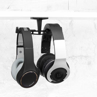 Truss - The Under The Desk Dual Headphone Hanger