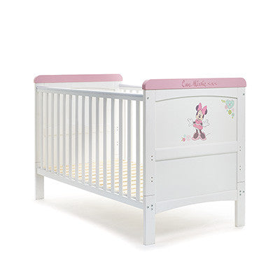 DISNEY MINNIE MOUSE DELUXE COT BED - LOVE MINNIE - Childrens Funky Furniture - 1