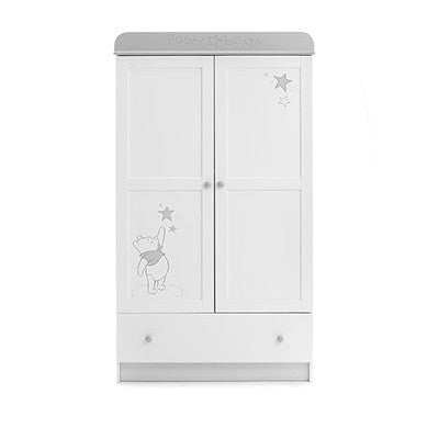 DISNEY WINNIE THE POOH DOUBLE WARDROBE - DREAMS & WISHES - Childrens Funky Furniture - 1