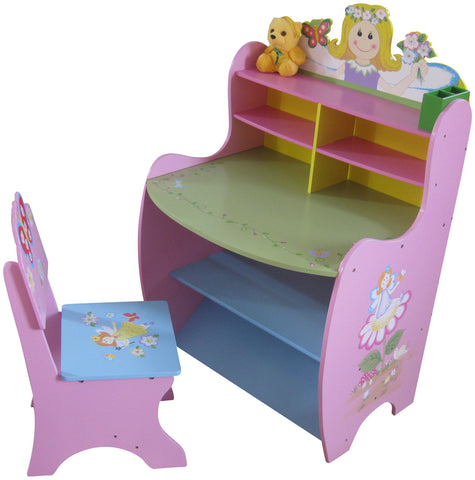 Fairy Learning Desk And Chair - Childrens Funky Furniture - 1