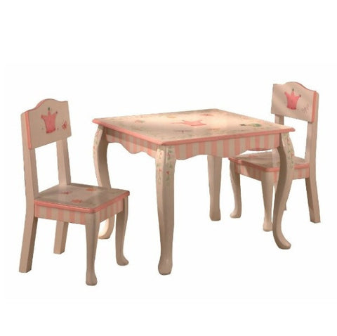 Princess and Frog Table and Two Chair Set - Childrens Funky Furniture