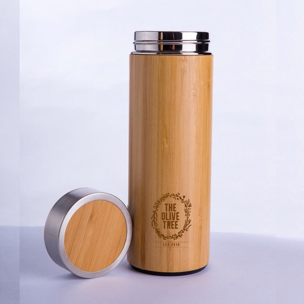 thermos bottle the olive tree plastic free