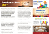'Do you know why Jesus died?' - Evangelistic Leaflet