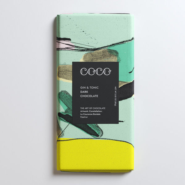 Coco Chocolatier Gin & Tonic Dark Chocolate