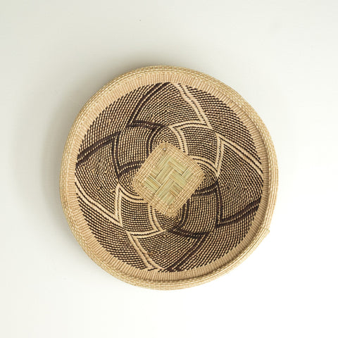 African basket to hang on wall