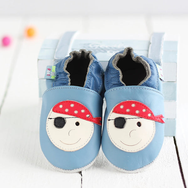 Pirate Soft Leather Baby Shoes | Lifestyle