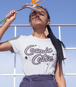 "Adorned By Chi White / XS ""Cosmic Cutie"" Short-Sleeve Unisex T-Shirt"