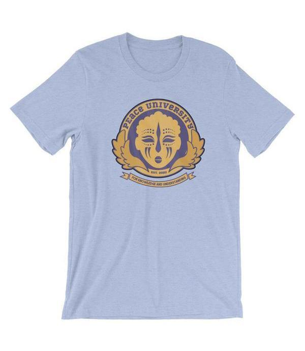 Adorned By Chi Peace University Short-Sleeve Unisex T-Shirt