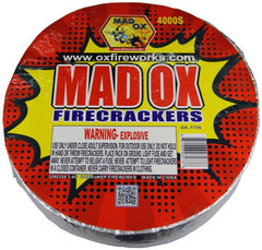 Ox Firecrackers 4,000'S Roll