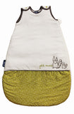 Petit Renard Baby Sleep Sack (Little Fox, Olive & Grey)