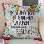ALICE IN WONDERLAND PILLOW CASE - Gifts For Reading Addicts