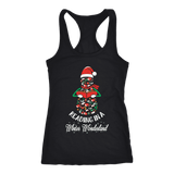 """Reading in a winter wonderland"" Women's Tank Top - Gifts For Reading Addicts"
