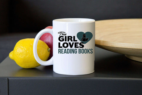 This Girl Loves to Read Mugs - Gifts For Reading Addicts