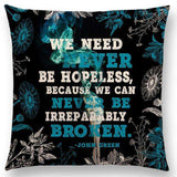 Bookish Quotes Cushion Covers, Color - a022516 - Gifts For Reading Addicts