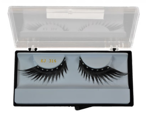 Mehron Diamond Feather E.Y.E. Lashes EJ-316 - FXCOSPLAY