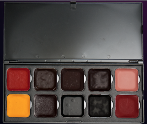 Encore BLOOD Edition Alcohol- Based Palette by EBA - FXCOSPLAY