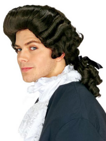 Colonial Man Wig- Brown - FXCOSPLAY