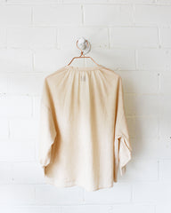 LAUREN PRAIRIE BLOUSE - GOLDEN STRIPE