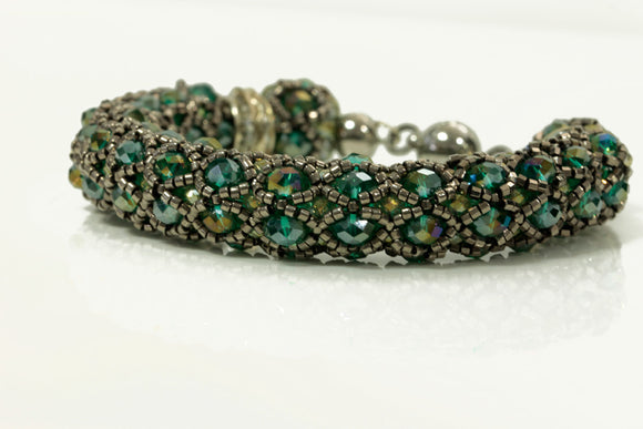 KTC-139 Statement Beaded Bracelet,  Kalitheo Jewellery,