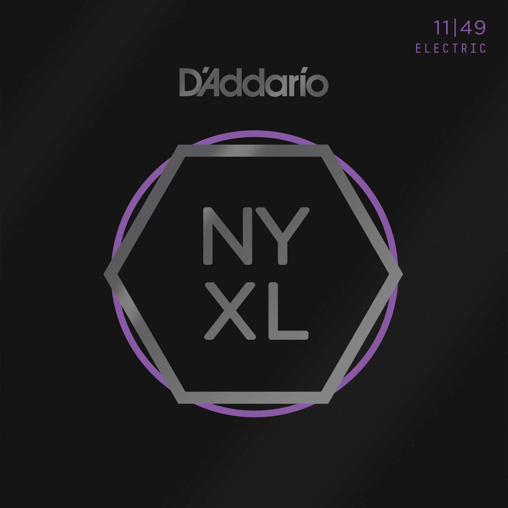D'Addario NYXL Nickel Wound, Medium, 11-49