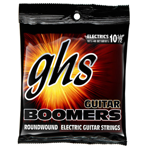 GHS Boomers Medium Light+ 10 1/2 - 48 Electric Guitar Strings (GB10 1/2)