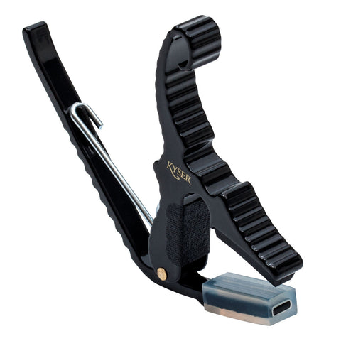 Kyser KG3B Black Short Cut Partial Guitar Capo