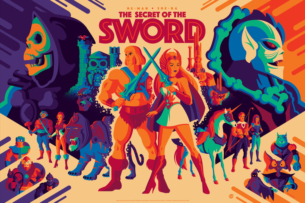 The Secret Of The Sword - Magic Variant - Mad Duck Posters