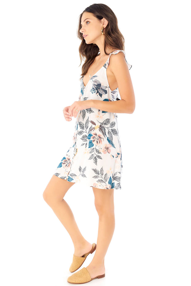 Lover Mini Dress - Full Bloom,saltwater luxe,Saltwater Luxe,WOMENS