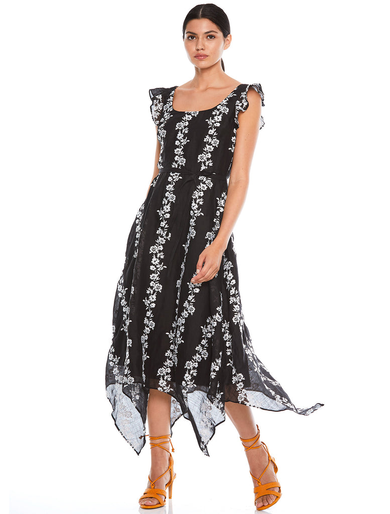 WHIMSY MIDI DRESS