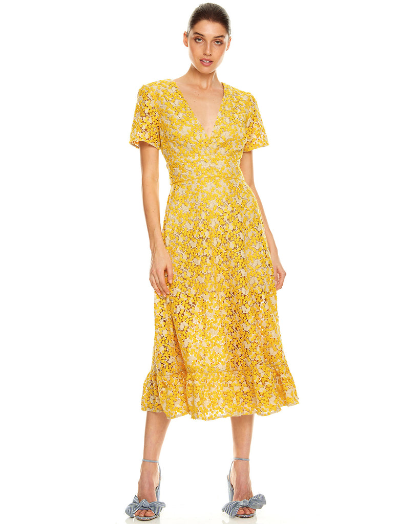 SUN DREAMS MIDI DRESS