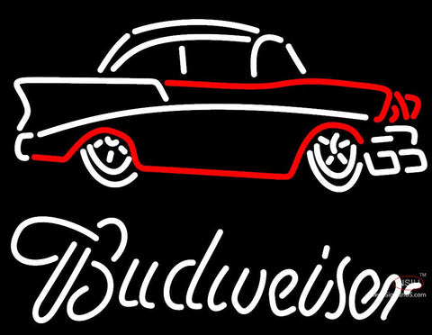 Budweiser with 7 Chevy Neon Sign