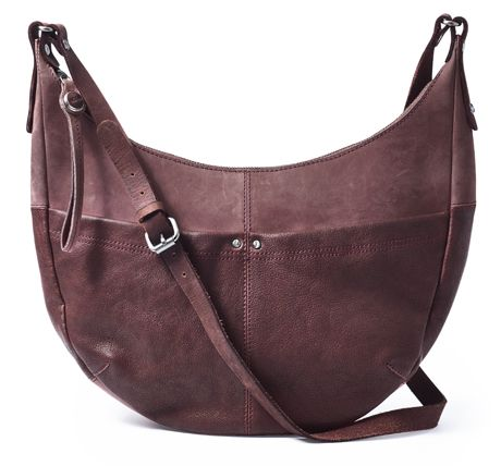 Noosa Amsterdam Warrior Large Shoulder Bag Wine.