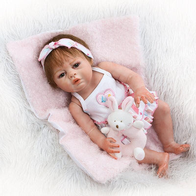 Minidiva 18 Inch Full Silicone Body Baby Doll Hollie - MiniDiva