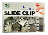 Stainless Steel Slide-Clips - Large