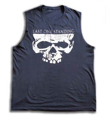 Unbreakable Men's Muscle Tank-Navy