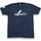 L1S Fitted Tee-Navy