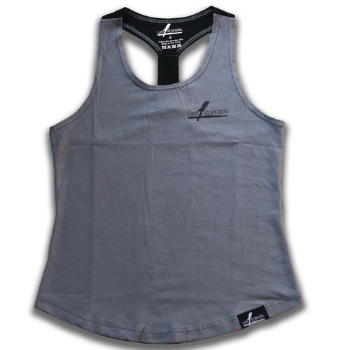 Ladies Grey Unbreakable Tank