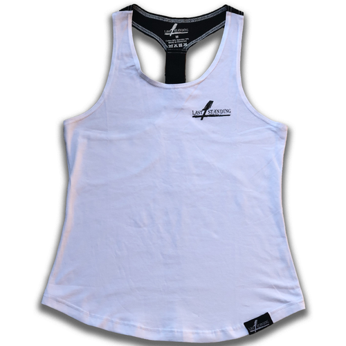 Ladies White Unbreakable Tank