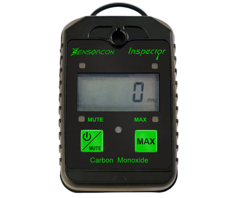 Portable Carbon Monoxide Detector Meter (CO Inspector) - Sensorcon - Sensing Products by Molex - 1