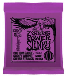 Ernie Ball 7-String Power Slinky Slinky 2620 - L.A. Music - Canada's Favourite Music Store!