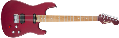 Charvel Limited Edition Justin Aufdemkampe Signature Pro-Mod SD24 Caramelized Maple Fingerboard Trans Red