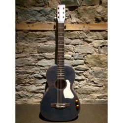 Art & Lutherie 047079 Roadhouse Denim Blue Q-Discrete Acoustic Electric Guitar