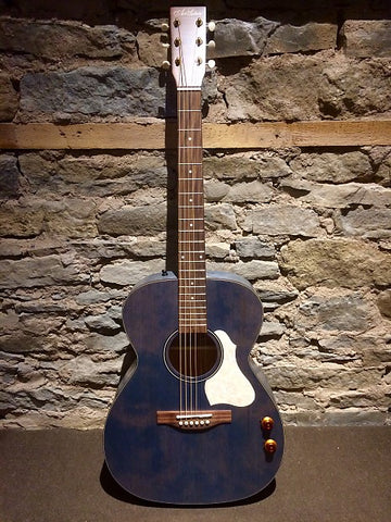 Art & Lutherie 047086 LEGACY Concert Acoustic Electric Guitar - Denim Blue