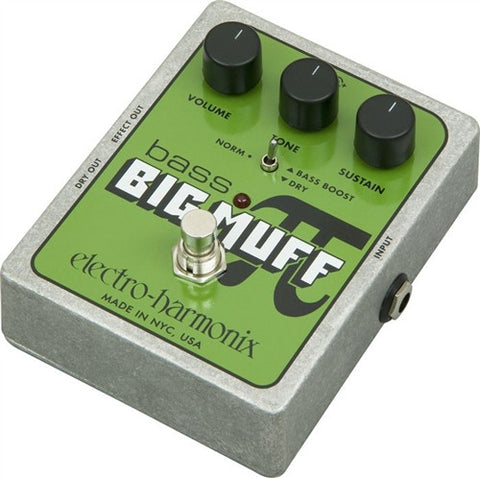 Electro-Harmonix XO Bass Big Muff PI Distortion Effects Pedal - L.A. Music - Canada's Favourite Music Store!