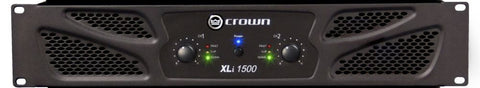 Crown XLI1500 Power Amplifier - L.A. Music - Canada's Favourite Music Store!