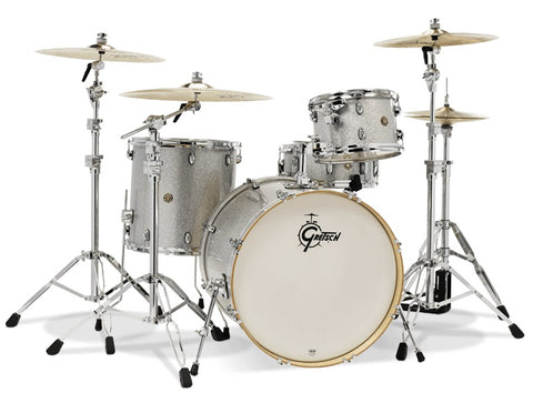 Gretsch Drums Catalina Maple, Shell Pack, Silver Sparkle CM1-E824S-SS