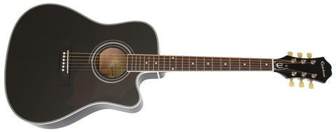 Epiphone 2014 FT-350SCE Min-Etune Acoustic/Electric Ebony EE35SCEREBNH - L.A. Music - Canada's Favourite Music Store!