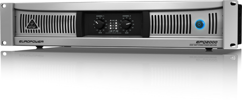 Behringer EPQ2000 Professional 2 000-Watt Light Weight Stereo Power Amplifier  With ATR (Accelerated Transient Response) Technology