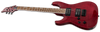 ESP LTD H-200FM H200 FLAME TOP IN SEE THRU RED LEFT HANDED