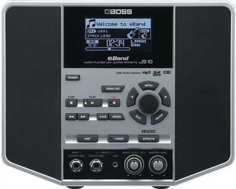 Boss eBand JS-10 Personal Guitar/Bass Trainer Loaded - L.A. Music - Canada's Favourite Music Store!